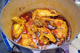 recettes de cuisine africaine poulet à l huile de palme sauvage food la cuisine à