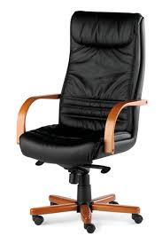 cuir de bureau impressionnant chaise de bureau cuir fauteuil direction noir
