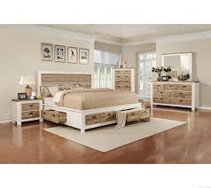 Queen Bedroom Sets With Storage Meridien White Timber Bed With Four Drawer Storage Bedroom Ideas