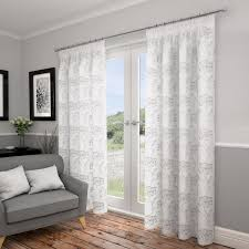 White Lined Curtains Voile Curtains Lined Voiles Buy Online Tonys Textiles