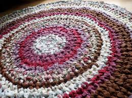 Crochet Rugs With Fabric Strips 151 Best Crocheted Rugs Images On Pinterest Crochet Rugs