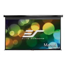 amazon com elite screens manual 84 inch 16 9 pull down