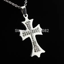 christian jewelry store aliexpress buy cool christian jewelry men women s stainless