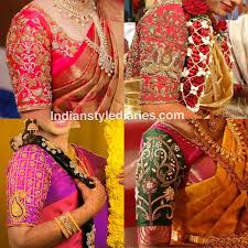 blouse designs blouse designs for wedding sarees indian style diaries