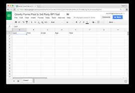 How To Create Google Doc Spreadsheet Gravity Forms To Google Sheets By Gravityplus