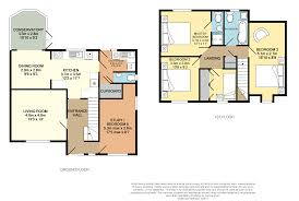 Conservatory Floor Plans 4 Bedroom Detached House For Sale In Mill Lane Great Yarmouth