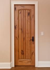 Interior Wood Doors For Sale Interior Door Custom Single Solid Wood With Light Knotty Alder