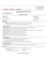 Resume Templates For Nurses Free 36 Registered Nurse Resume Templates Examples Of Nursing Resume