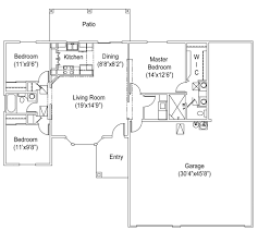 Car Floor Plan 1245 Seville Floor Plan Seville Builders Inc Seville Builders Inc