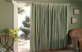 Curtains For Glass Door Curtains For Sliding Glass Door Free Home Decor