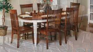 amish dining sets king dinettes youtube