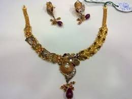 new gold set antique gold necklace set for sale in new delhi on