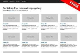 product layout bootstrap free css responsive layouts