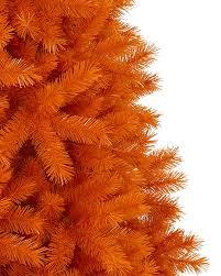 Halloween Lighted Trees The 100 Orange Christmas Tree Or Halloween Trees Treetopia