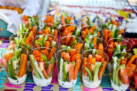 great idea for a party so everyone isn u0027t crowded around a dip tray