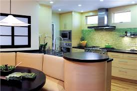 contemporary modern retro casual kitchen photos