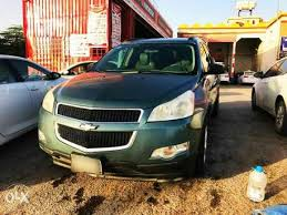 chevrolet traverse 7 seater sar 20500 chevrolet traverse 2009 automatic 253363 km green