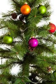isolated tree decorations 2016 happy new year stock photo