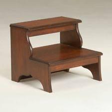 wooden kitchen step stools ebay