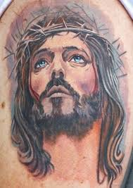 61 jesus tattoos on shoulder