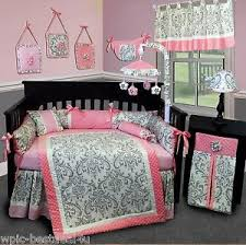 damask crib bedding ebay