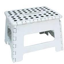 home design essentials sublime white plastic step stool for home design essentials