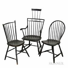 Black Windsor Chairs Search All Lots Skinner Auctioneers