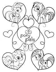 my little pony 4 coloringcolor com