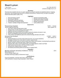 sample resume for health care aide amazing sample cover letter for