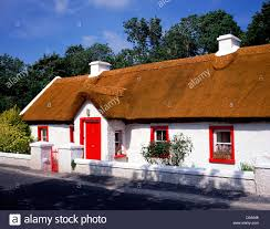 Thatched Cottage Ireland by Irish Thatched Cottage Stock Photo Royalty Free Image 51854664