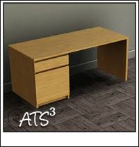 bureau malm around the sims 3 custom content downloads objects office