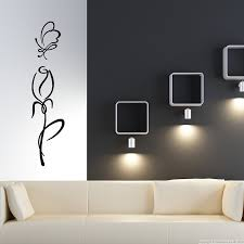 tulip outline flower wall sticker room pinterest flower tulip outline flower wall sticker