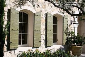 custom crafted architectural decorative window shutters
