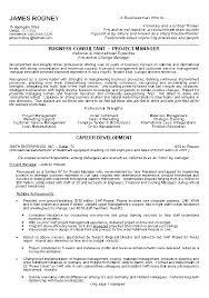 Bussiness Resume Professional Business Resume Template Jospar