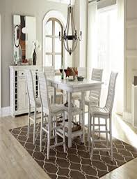 progressive furniture willow counter height dining table wood furniture casual dining p820 willow distressed white