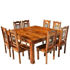 Solid Wood Dining Room Tables Contemporary Square Dining Table Tables U0026 Chairs Square Dining For