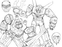 megazord vs voltron commission by thebreeze on deviantart