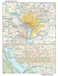 Washington Metro Map by Washington Dc Metro Wall Map Maps Com