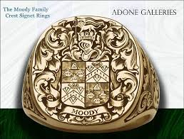 family rings for adone galleries gold family crest ring