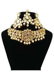gold choker necklace sets images Kundan choker necklace set jmy425 jpg