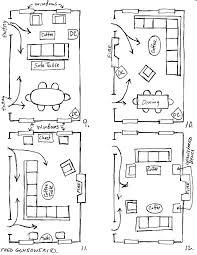 living room floor plan ideas long living room dining room layout arranging furniture twelve ways