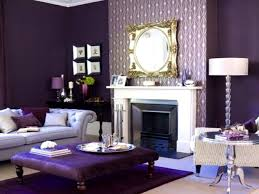 purple and grey living room ideas modern rectangular light blue