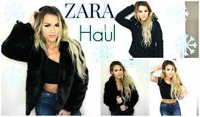 fall winter zara haul coats jackets youtube