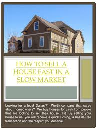 sell my house fast dallas fort worth