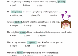 context clues word mystery worksheet education com