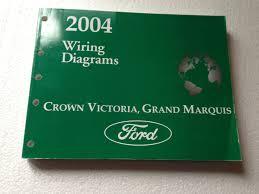 2004 crown victoria u0026 grand marquis original wiring diagram manual
