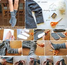 Diy Fashion Projects Diy Winter Shoes Diy Clothing Styles Pinterest Sewing Ideas