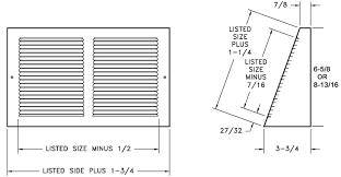 658 steel baseboard return base projection hart u0026 cooley