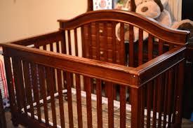 Baby Convertible Crib Lajobi Europa Baby Palisades Convertible Crib Rustic Cherry Ebay