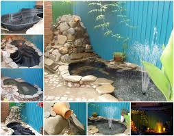 Building A Fish Pond In Your Backyard by Diy Fish Pond Outdoors Pinterest Backyard Fish Ponds And
